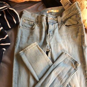 Levi's skinny jeans!